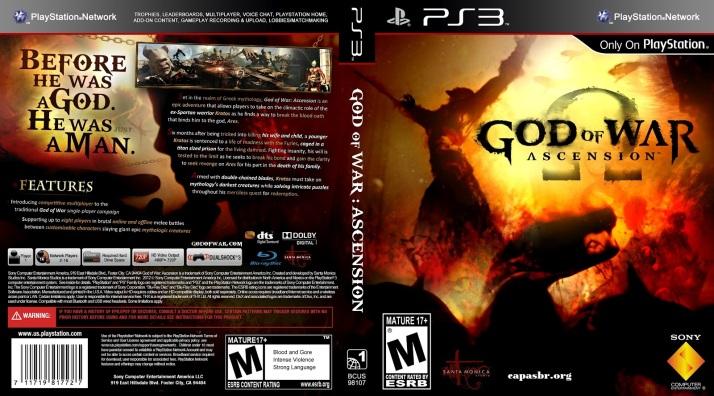 God Of War-Ascension PS3