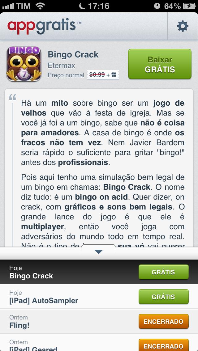 AppGratis - App's pagos de graça por 24h
