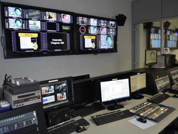 Sinal digital da TV Roraima completa 1 ano em Boa Vista (Foto: Rodrigo Menaros / G1 RR)