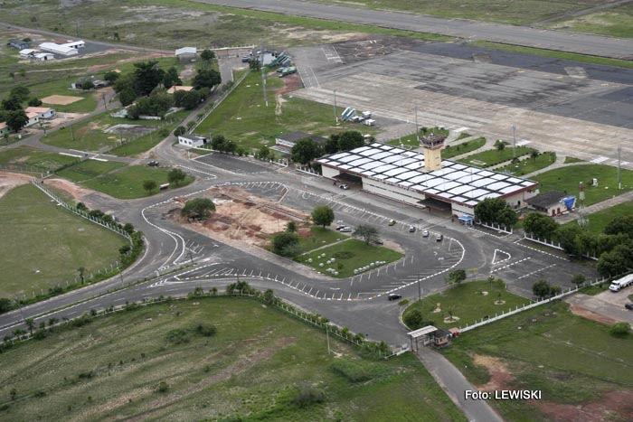 Aeroporto Internacional de Boa Vista: Atlas Brasil Cantanhede (foto: LEWISKI)