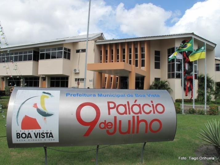 Palácio 9 de Julho, sede do poder municipal (foto: Tiago Orihuela)